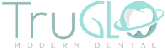 GLO modern dental logo